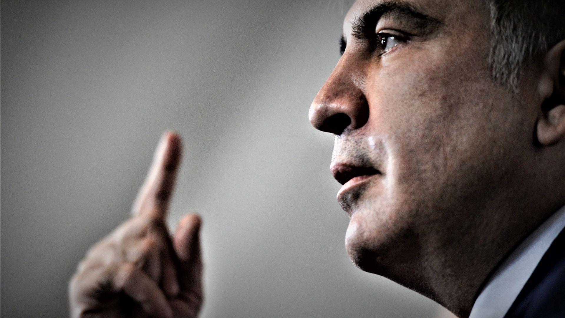 """Saakaszwili: """"Jestem jeszcze żywy. I chcę rezultatów tu i teraz"""" [WYWIAD]"""