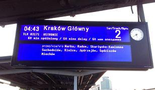 Gigantyczne opóźnienia pociągów. Pasażerowie czekali nawet po 13 godzin