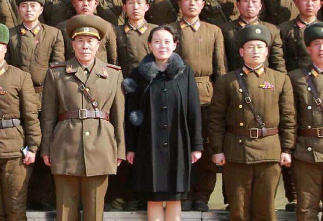 Kim Yo-Jong na zjeździe Partii Robotniczej