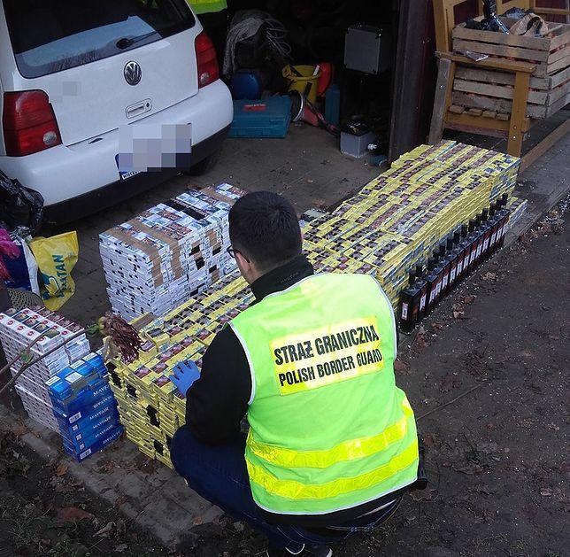 71-latek miał w domu m.in. 140 tys. sztuk papierosów... bez akcyzy
