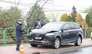 SOP uważa, że świetnie chroni VIP-ów. Kolizje drogowe? Jakie kolizje...