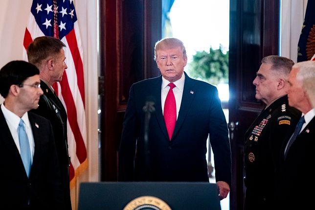 Wystąpienie Donalda Trumpa w Białym Domu wzbudziło spekulacje na temat jego stanu zdrowia