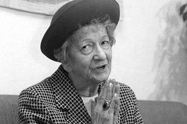 Wisława Szymborska, zdjęcie z 1996 r.