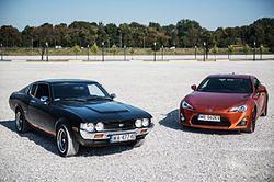 Toyoty GT86 i Celica GT na wspólnej sesji