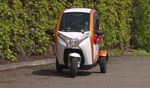 Elektryczny pojazd z Polski dla listonoszy. Mieliśmy okazję się nim przejechać