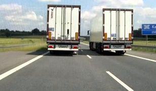 Wyprzedzanie ciężarówką innej może trwać nawet kilkadziesiąt sekund