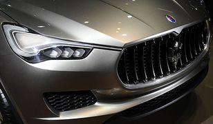 Maserati stworzy pierwszego w swojej historii SUV-a