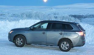 Testy Mitsubishi Outlandera PHEV w warunkach arktycznych