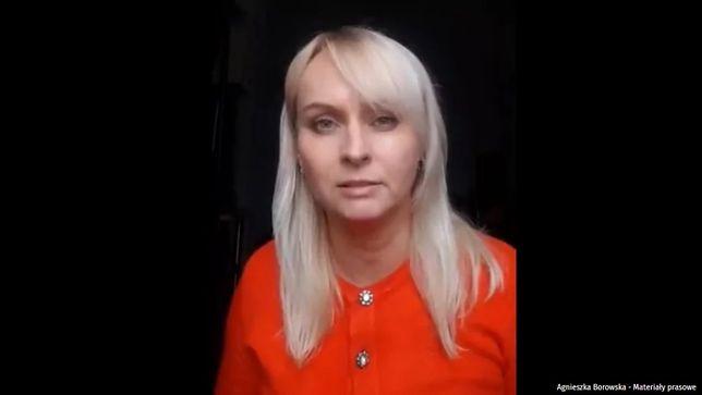 """""""Wstydźcie się"""". Agnieszka Borowska tłumaczy się z pokoju do płaczu"""