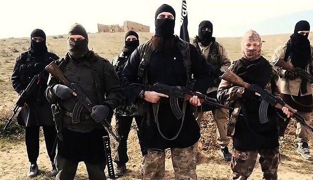 Bojownicy ISIS.