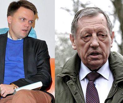 Szymon Hołownia/ Minister Szyszko