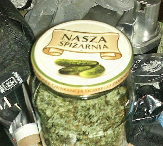 Miał w torbie 2 kg marihuany!