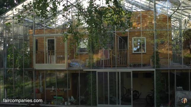 Dom jak szklarnia. Nietypowy projekt szwedzkiej pary