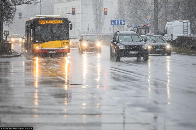Warszawa. Smog w stolicy 31 stycznia 2020 r.