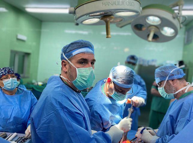 Gliwice. Lekarze Szpitala Miejskiego nr 4 dokonali przełomowej operacji.