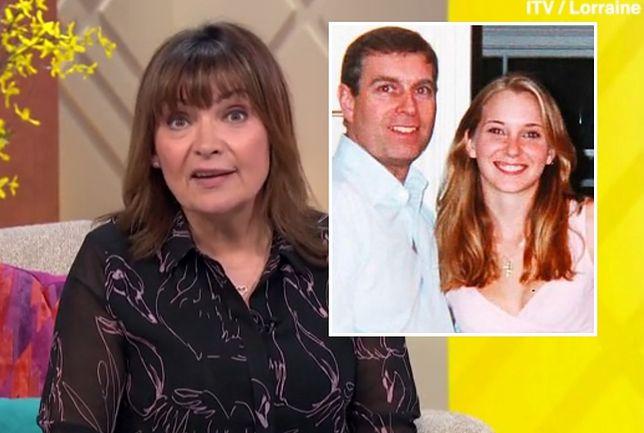 Lorraine Kelly nawiązała do afery księcia Andrzeja
