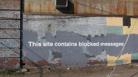 """Banksy zidentyfikowany dzięki """"nowym technologiom""""? Nie tak prędko"""