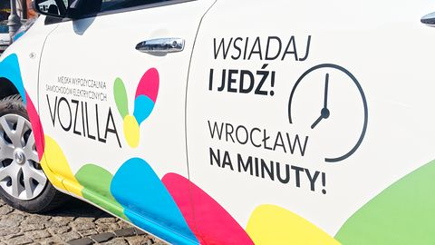 Vozilla: elektryczne samochody na minuty we Wrocławiu od listopada