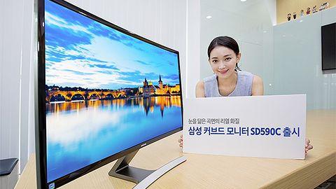 Zakrzywione monitory Samsunga: w końcu warto będzie kupić nowy model?