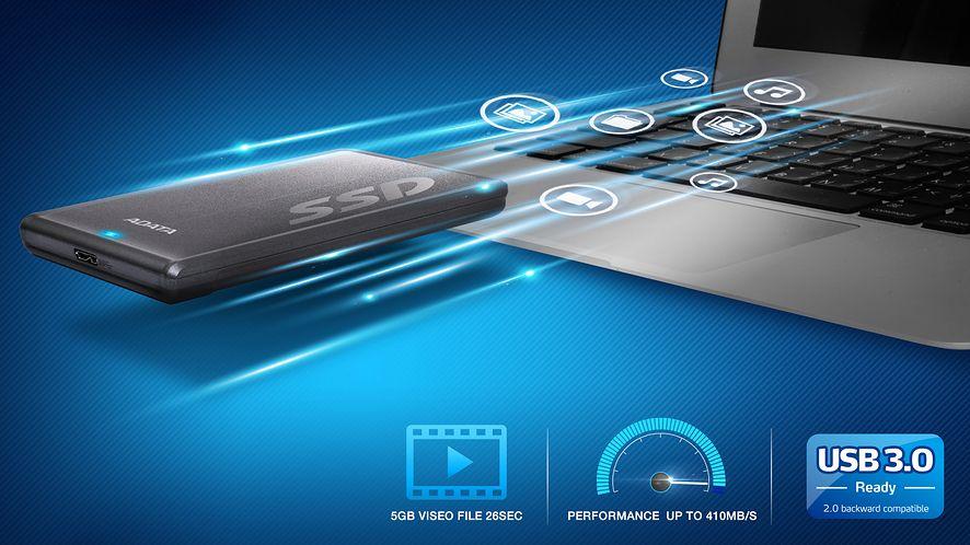 Pierwszy zewnętrzny dysk SSD od ADATA debiutuje w Polsce #prasówka