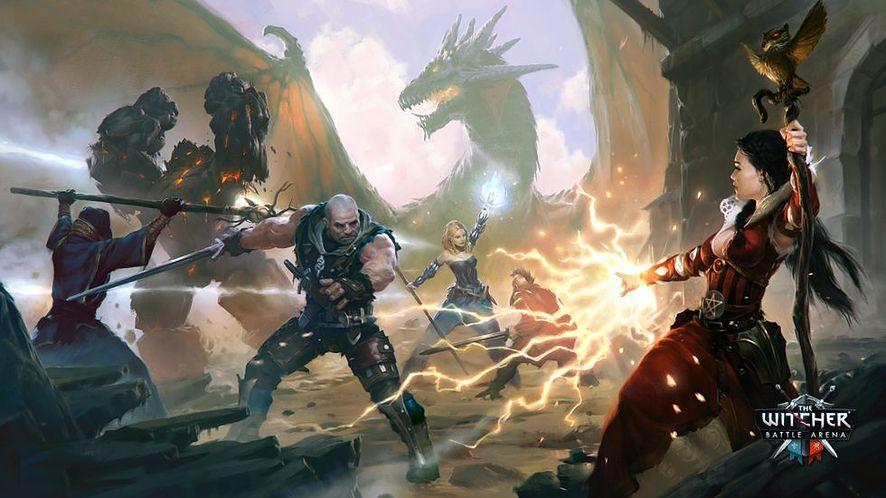 Oczekiwanie na Wiedźmina 3 umili premiera The Witcher Battle Arena na iOS i Androida