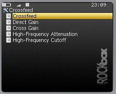 Crossfeed