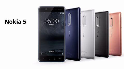 """Nowa Nokia 5 – kompaktowy smartfon w pięciu kolorach i """"unikalnej"""" formie"""