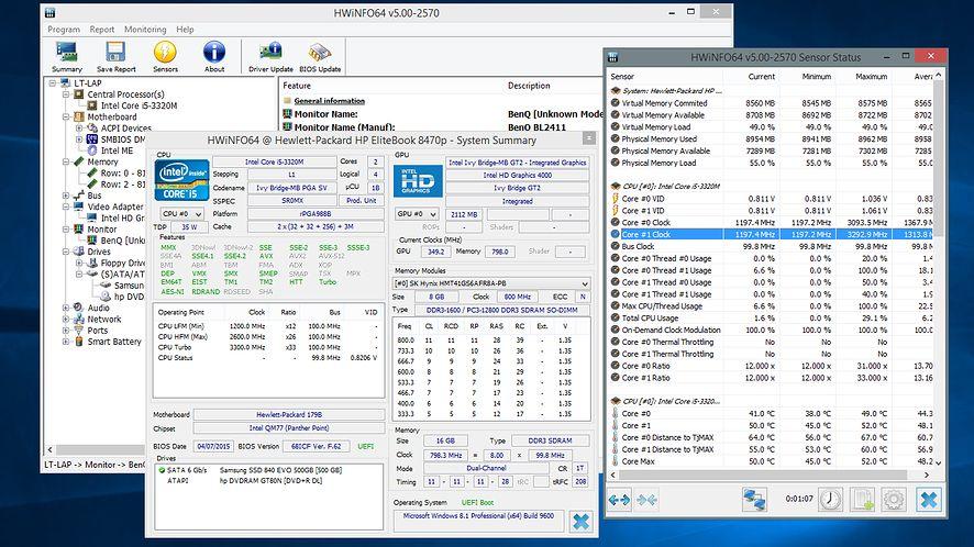 HWiNFO 5.0 potrafi już rozpoznać nowe karty graficzne AMD i procesory Intela