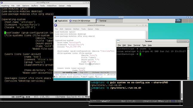 Guix: plik konfiguracji systemu
