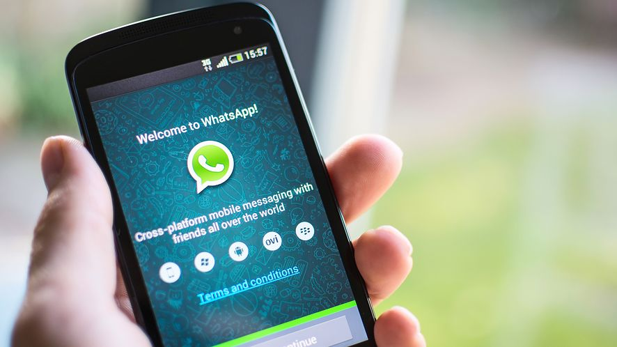 WhatsApp na Androidzie z depositphotos