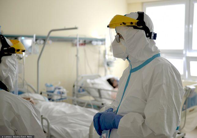 Jest najnowszy raport Ministerstwa Zdrowia, dotyczący sytuacji epidemicznej