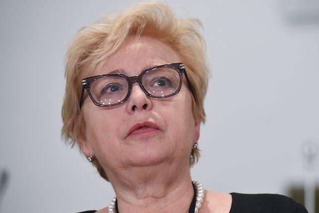 Gersdorf: pakiet ustaw o sądownictwie stwarza zagrożenie dla obywateli