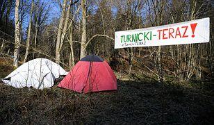 Podkarpackie. Aktywiści okupują las. Chcą utworzenia Turnickiego Parku Narodowego