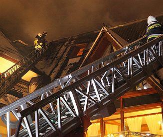 "Pożar hotelu ""Belvedere"" w Zakopanem"