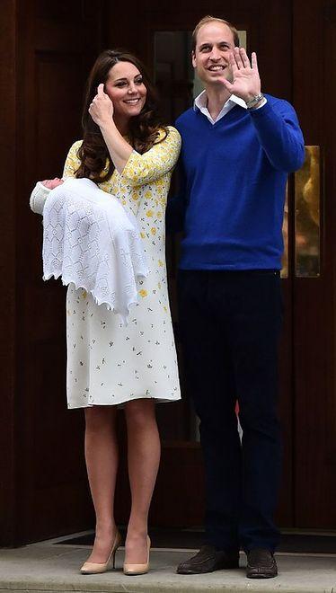 Kate Middleton 12 godzin po porodzie