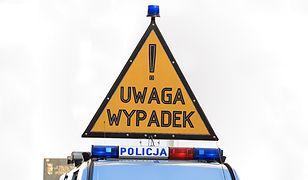 Z powodu pogody fatalne warunki na drogach