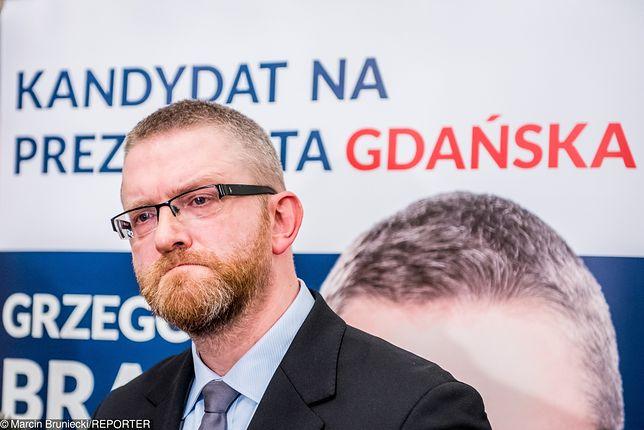 Grzegorz Braun w wyborczy wieczór ogłosił swoją teorię o tuszu