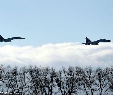 Rosyjskie Su-27 przechwyciły samolot rozpoznawczy USA