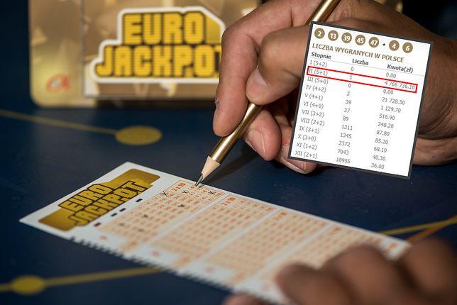 4,7 mln zł wygrał w ostatnim losowaniu gracz z Polski.