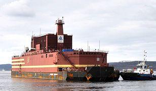 Rosja uruchomiła pływającą elektrownię jądrową.