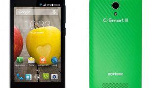 myPhone C-Smart III z kartą startową tuBiedronka za 199 zł