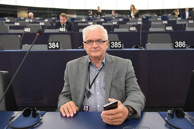 Włodzimierz Cimoszewicz w Parlamencie Europejskim
