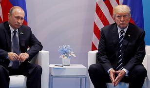 Prezydenci Putin i Trump w lipcu spotkali się w Niemczech