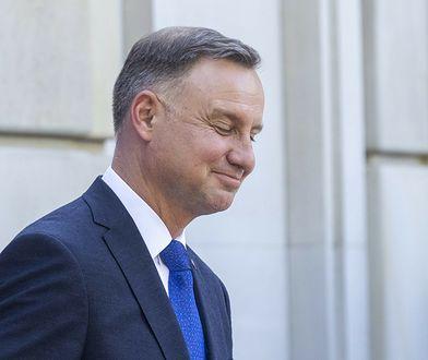 Prezydent Andrzej Duda zostawił serduszko pod postem Roksany Węgiel