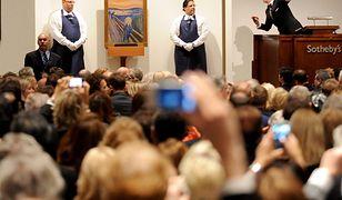 """""""Krzyk"""" Muncha sprzedano za blisko 120 mln dolarów"""