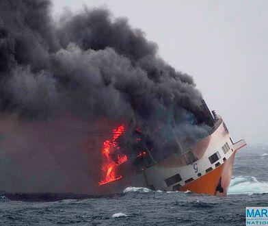 Katastrofa statku Grande America u francuskich wybrzeży zagraża faunie i florze