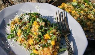 Warzywne risotto po meksykańsku