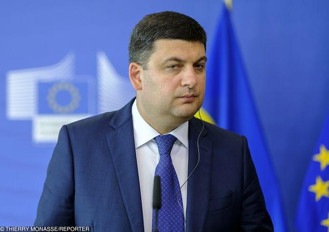 Ukraina. Parlament odrzuca dymisję premiera Hrojsmana