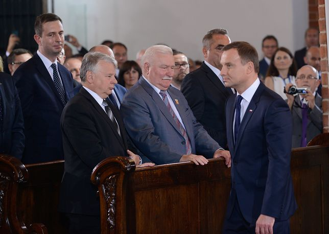 Duda o Wałęsie: mam nadzieję, że problemy zdrowotne miną