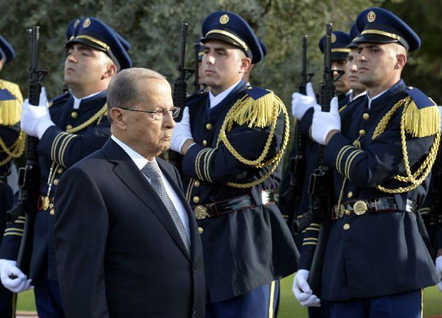 Michel Aoun został prezydentem Libanu
